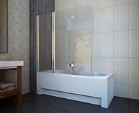 Шторка для ванны Koller Pool Waterfall Line QP 96 L хром, стекло Grape, фото 1