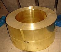 Лента бронзовая от 0,1 - 0,6мм ОЦС, БрБ2 , БрКМЦ , БрОФ,БрАЖ, БрКМц