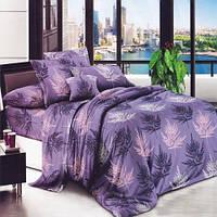 Постельное белье Бязь Папоротник Комплект постельного белья полутороспальный, евро, двуспальный