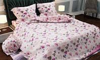 Постельное белье Бязь Сердечки-пуговки Комплект постельного белья полутороспальный, евро, двуспальный