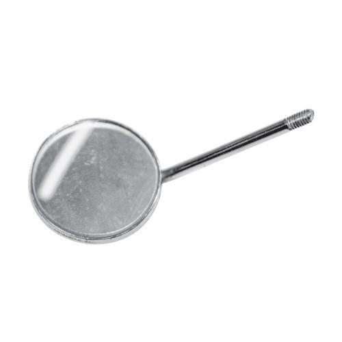 Зеркало стоматологическое плоское простое размер 4, диаметр 22 мм, без ручки, SD-0771-22 Surgicon
