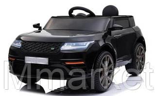 """Детский электромобиль """"Джип"""" музыкальный T-7834 EVA BLACK на Bluetooth 2.4G Р/У 12V4.5AH мотор 2*20W"""