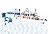 Машина Omron для горизонтального формування, заповнення та герметизація