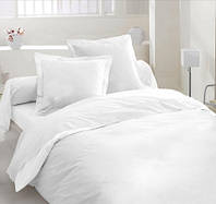 Постельное белье Бязь Белое Комплект постельного белья полутороспальный, евро, двуспальный