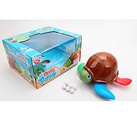 Черепаха YH1801 (18шт) 20см, несет яйца, ездит,подвиж.детали, муз, на бат-ке, в кор-ке, 30,5-16-27см