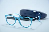 Имиджевые очки Erika голубые., фото 1
