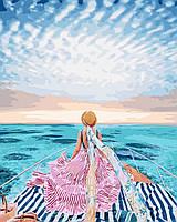 """Картина по номерам BrushMe Премиум """"Вглубь Маврикий"""" 40х50см в подарочной упаковке PGX24912"""