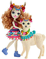 Кукла Enchantimals Лама Ллуэла и Флиси