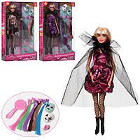 Кукла DEFA шарнирная 29см, маски, расческа, аксессуары, 3 вида, 8398-BF