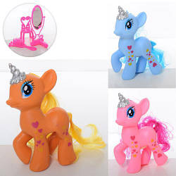 "Лошадка ""Little Pony"", музыка, звук, свет, аксессуары, LJF779"