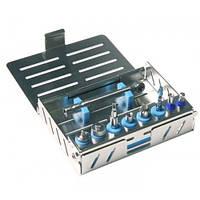 Кассета для имплантов для 8 инструментов и 1 динамометрического ключа, 500301 Nichrominox