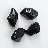 Черные декоративные камни к биокаминам