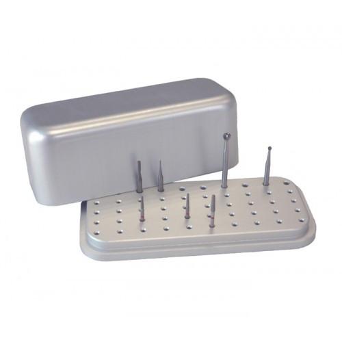 Макси-подставка для стоматологических боров на 50 инструментов, 190240 Nichrominox