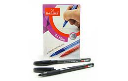 Ручка Tri Flex TT шариковая, красная, тонированный корпус, ТМ Radius, 257016красн