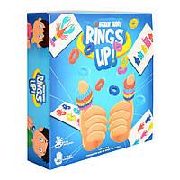 Настольная игра Разноцветные кольца, 5053