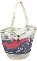 Оригинальная  пляжная сумка Podium PC 7812-1 red печать, красный