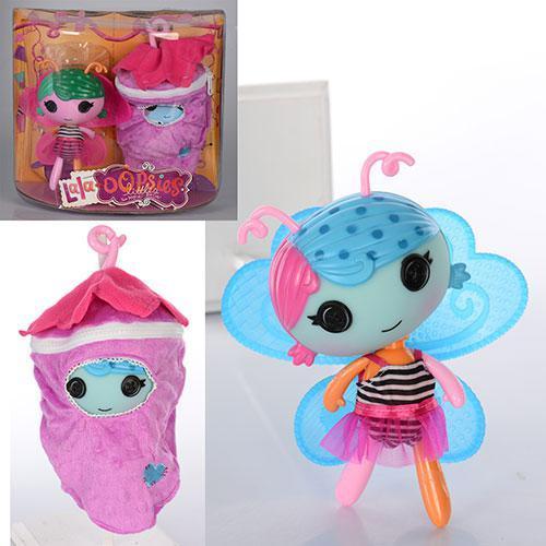 """Кукла """"LаLа"""", 18см, с крыльями, чехол-ягодка, 2 цвета, ZT9915"""