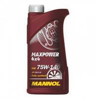 Трансмиссионное синтетическое масло Mannol Maxpower (Synpower) 4x4 75W140 1л