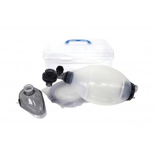 Мешок дыхательный реанимационный типа Амбу (силиконовый) Greetmed