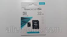 Карта памяти TeamGroup microSDHC Class 10, 32GB