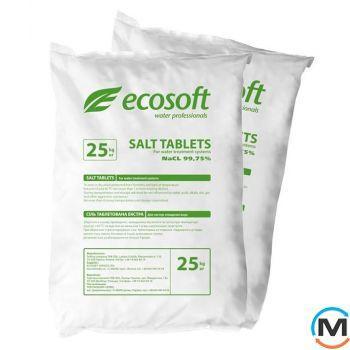 Ecosoft Ecosil таблетированная соль, кг 25