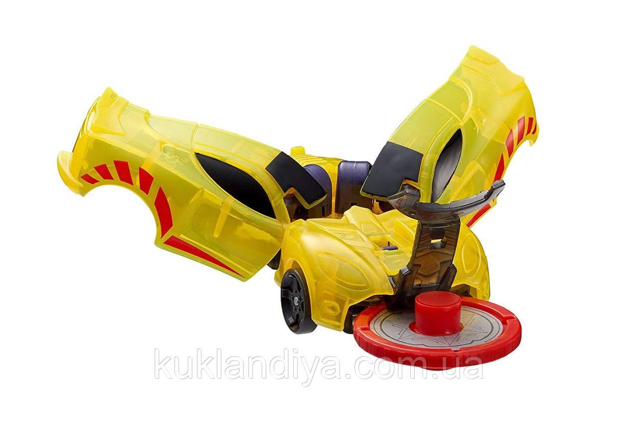 Дикие Скричеры машинка трансформер Спаркбаг Screechers Wild Sparkbug