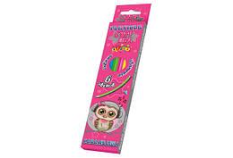 """Карандаши """"Cute little owl"""", Kidis, гнущиеся, 6 цветов, 7430"""
