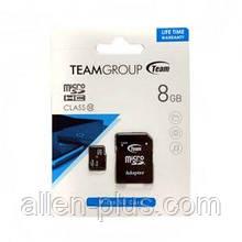 Карта памяти TeamGroup microSDHC Class 10, 8GB