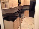Кухонные столешницы из черного гранита, фото 4