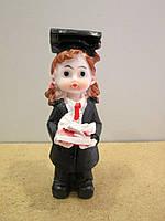 Подарок для учащихся - Статуэтка Девочка-ученица