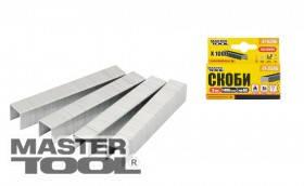 MasterTool  Скобы каленые 10 мм, 1000 шт, Арт.: 41-0310