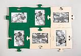 Фоторамка-пазл Зеленого цвета, фото 2