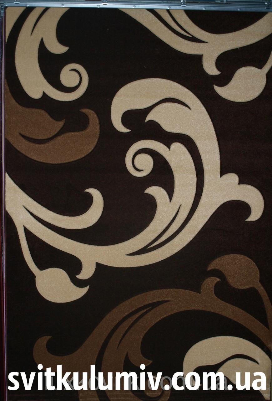 Ковер рельефный Legenda 0313 brown