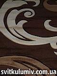 Ковер рельефный Legenda 0313 brown, фото 3