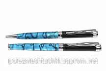 "Набор ручка шариковая и роллер Genteleman delight set Blue ""Pierre Cardin"""