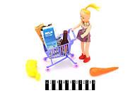 Лялька з візочком для супермаркету, HJ-7084
