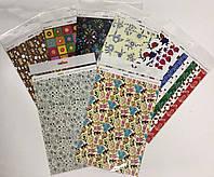 Набір із 2 аркушів картону, для дизайнерських робіт (Двосторонній), Тетрада, ТЕ462199