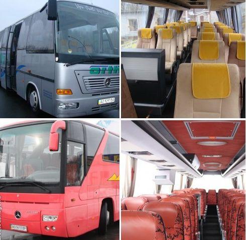 Для группы пассажиров от 18 до 49 человек наилучшим образом подойдут в поездку наши автобусы туристического класса большей вместимости : Мерседес — Бенз Туризмо 0350 ( 45 мест) и Мерседес Атего ( 26 мест ).