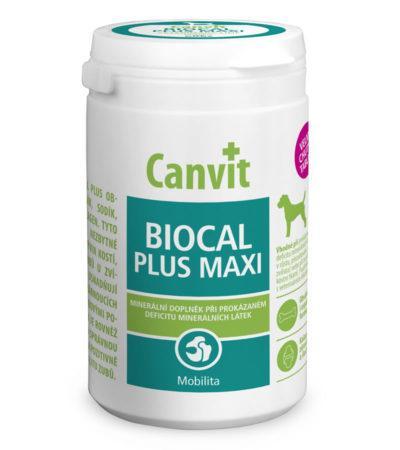 Кальций для собак крупных пород Canvit Biocal Plus Maxi 230 г (76 табл.)