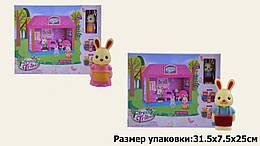 """Игровой набор, домик """"Лесные жители"""", 1 этаж, гостинная, фигурки, 60234"""
