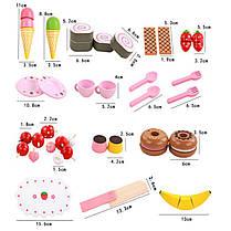 Деревянная кухня Притворись Play Toy Кукла Аксессуары для дома Сладкие принцы Мороженое Готовим пазл - 1TopShop, фото 3