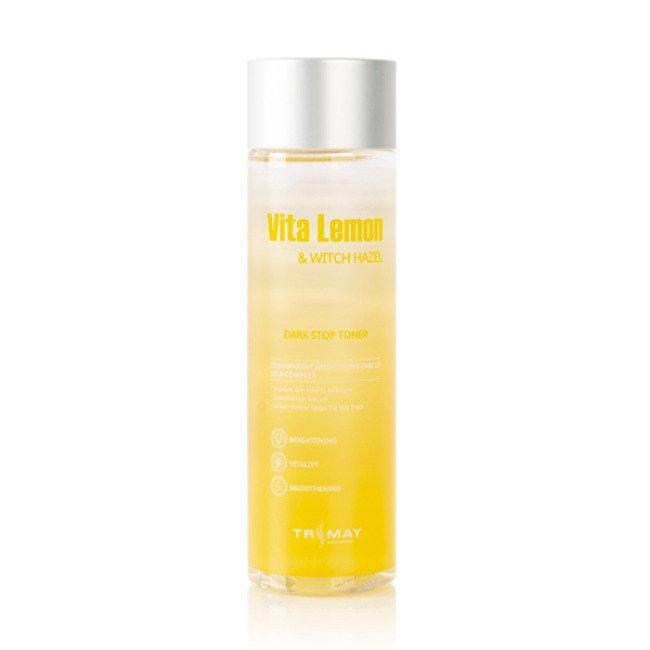 Витаминный тонер для сияния с гамамелисом Trimay Vita Lemon & Witch Hazel Dark Stop Toner, 210 мл Корея