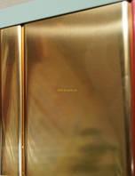 Реечный подвесной потолок, золото-зеркало С-2, фото 1