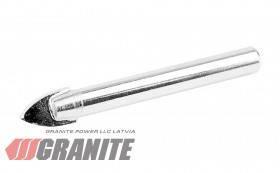 GRANITE  Сверло пикообразное для стекла и плитки  4*60 мм GRANITE, Арт.: 2-01-046