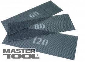 MasterTool  Сетка абразивная зерно  80 107*280 мм, 10 шт, Арт.: 08-0408