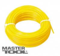 """MasterTool Леска для триммера 2,70 мм* 15 м, """"квадрат"""", Арт.: 19-1427"""