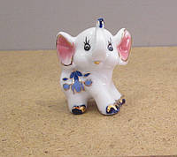 Маленькая фарфоровая статуэтка Слоник , фото 1