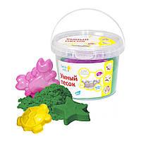 Набір для дитячої творчості «Розуний пісок» Зелений 0,5, SSR054