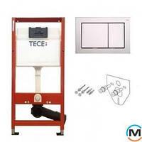 Комплект TECEbase (модуль + панель смыва TECEbase хром глянцевый + крепления)
