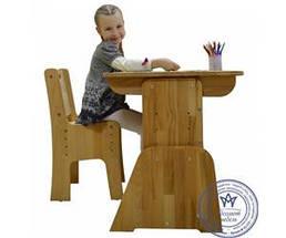 Детская парта мольберт растишка стол трансформер Абсолют Школярик С-490, фото 3